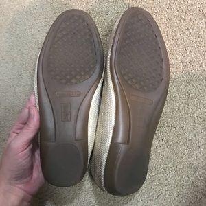 AEROSOLES Shoes - Aerosoles sequin gold loafers